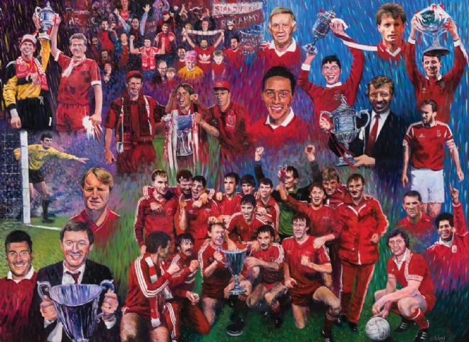 AFC Modern Legends Print